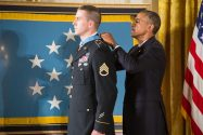 Ryan Pitts receives Medal of Honor