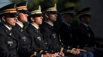 U.S. Army officers graduate among hundreds of Kings Pointers