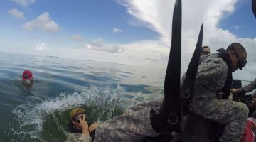 20th Special Forces Group at Combat Diver School