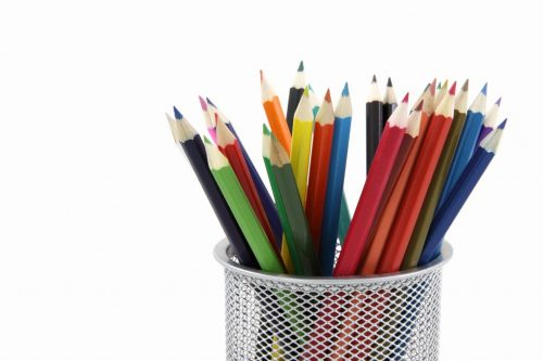 Free image/jpeg Resolution: 4336x2891, File size: 797Kb, Colored pencils in a stand