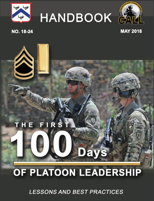 first_100_days_platoon_leadership